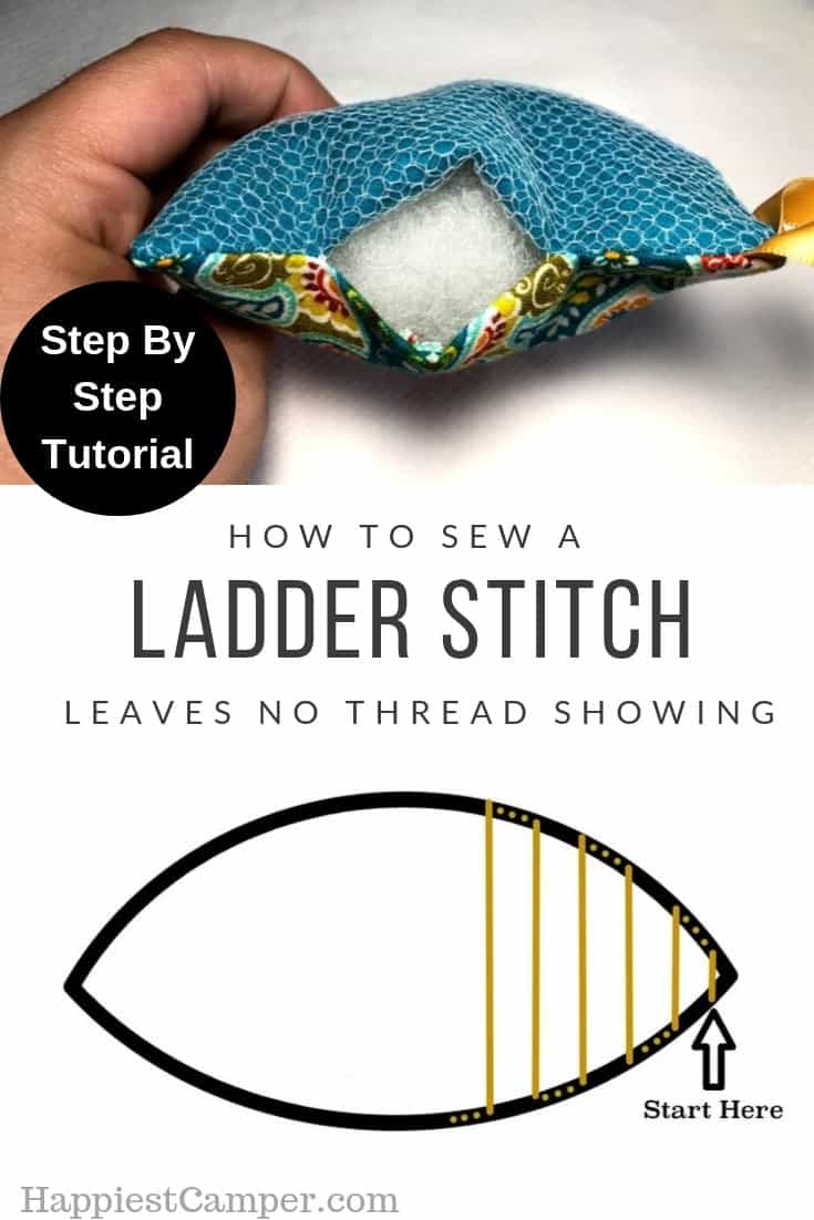 Ladder Stitch Tutorial