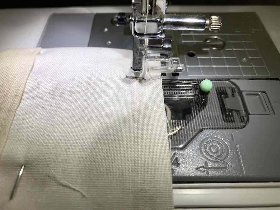 Sew L Shape in Bag