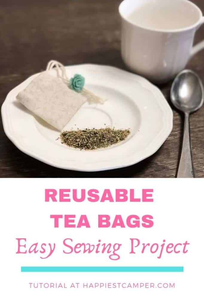 Tea Bags Sewing Project