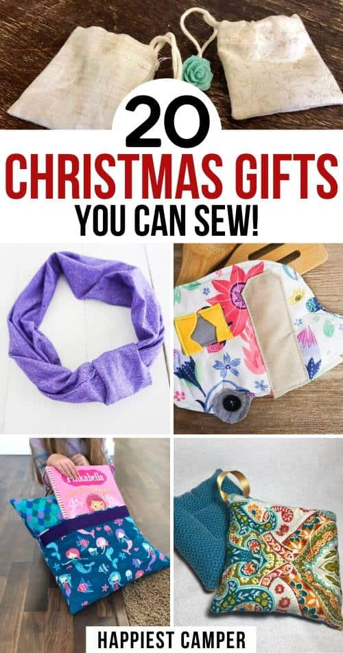 20 Christmas Gifts You Can Sew