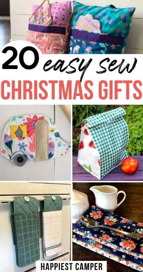 20 Easy Sew Christmas Gifts