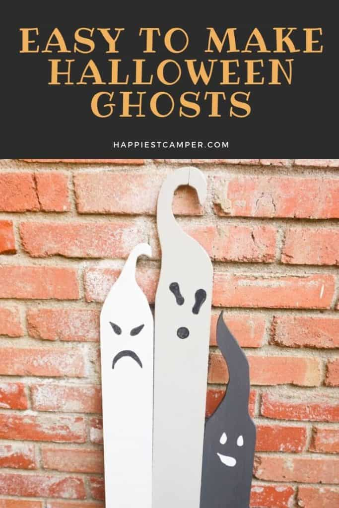 Easy to Make Halloween Ghosts