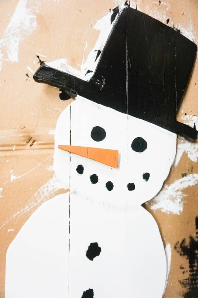 Snowman Face Complete