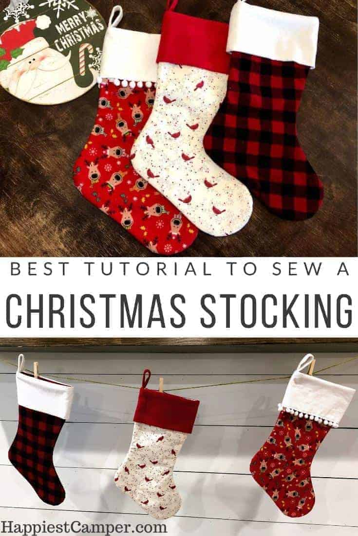 Best Tutorial to Sew a Christmas Stocking