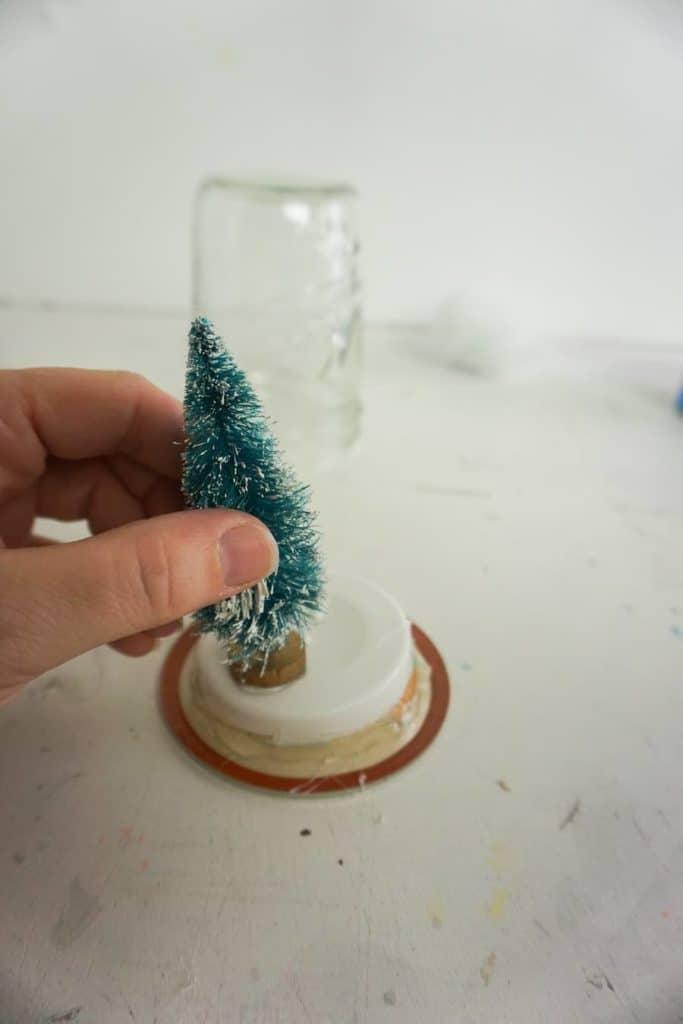 Glue Tree on Lid