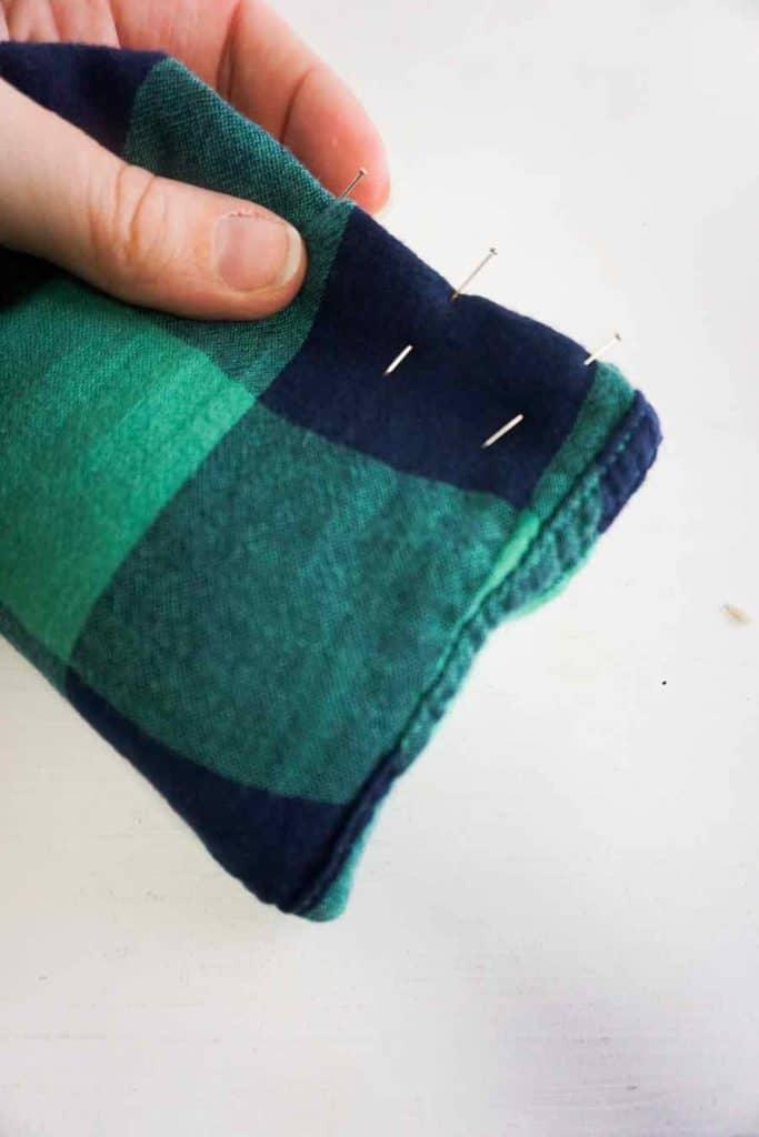 Pin Corner to Sew