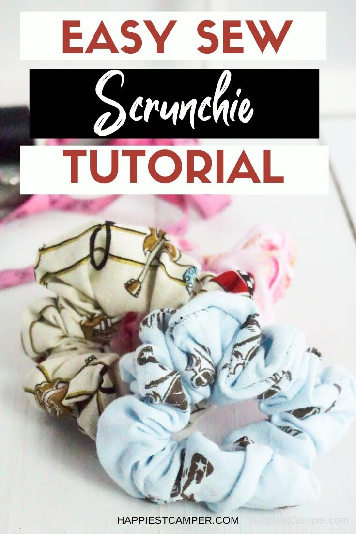 Easy Sew Scrunchie Tutorial