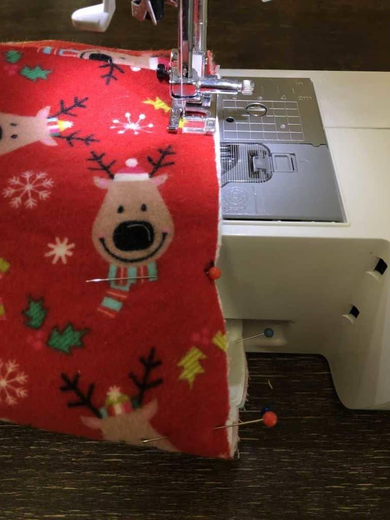 Sew Around Stocking
