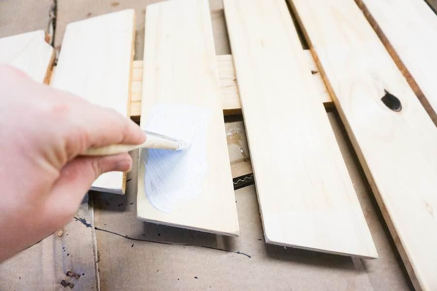 Paint Wood White