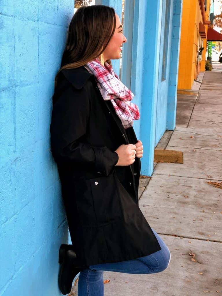 Wear your infinity scarf