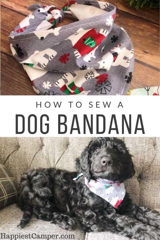 How to Sew a Dog Bandana