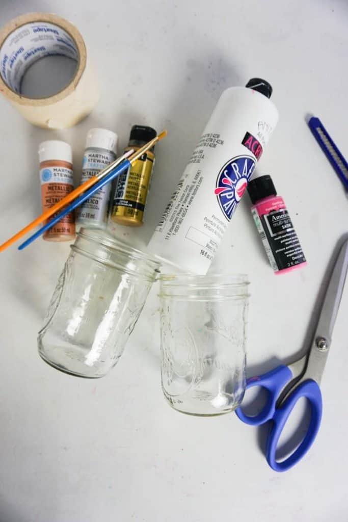 Mason Jar Craft Supplies