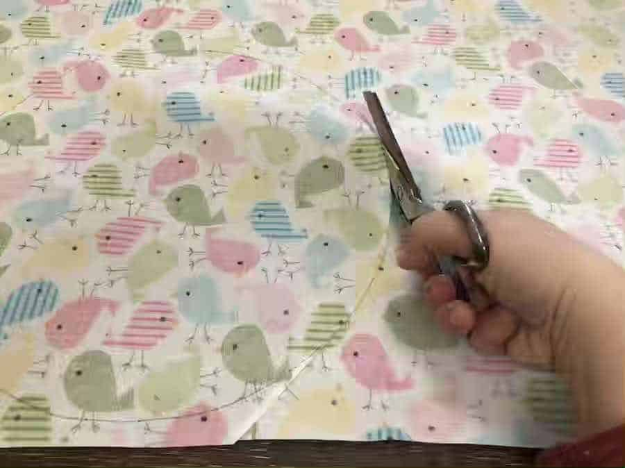 cutting fabric for covers