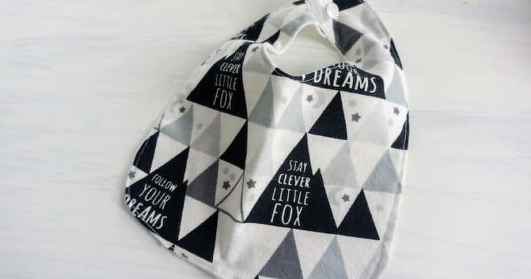 How to Make Baby Bibs with Free Pattern