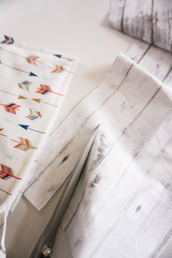 Cut Binding material
