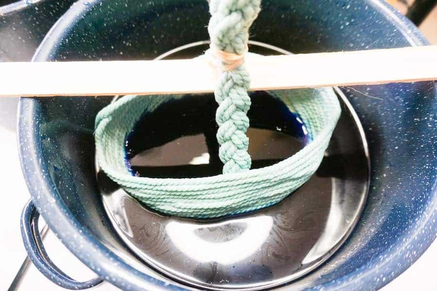 Easter Basket Hanging in Dye