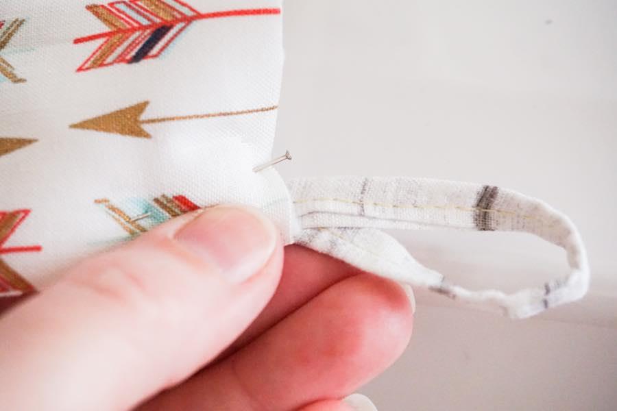 Pinning Fabric Loop