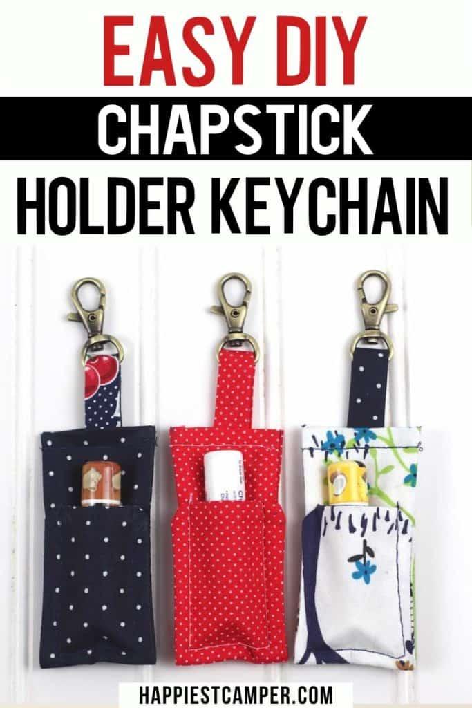 chapstick holder keychain