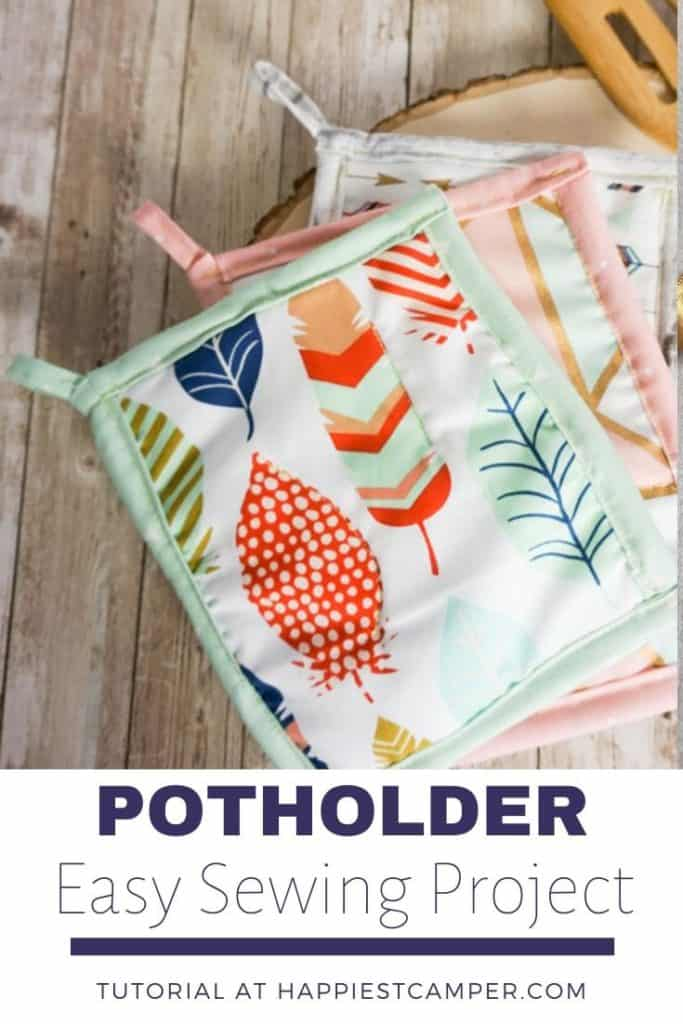 Potholder easy sewing project