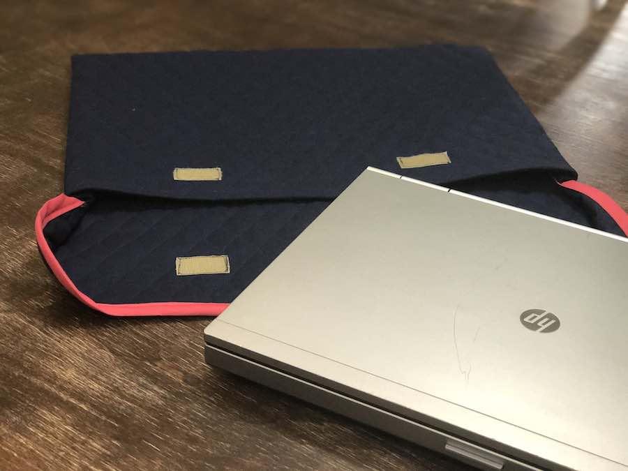 Final laptop sleeve