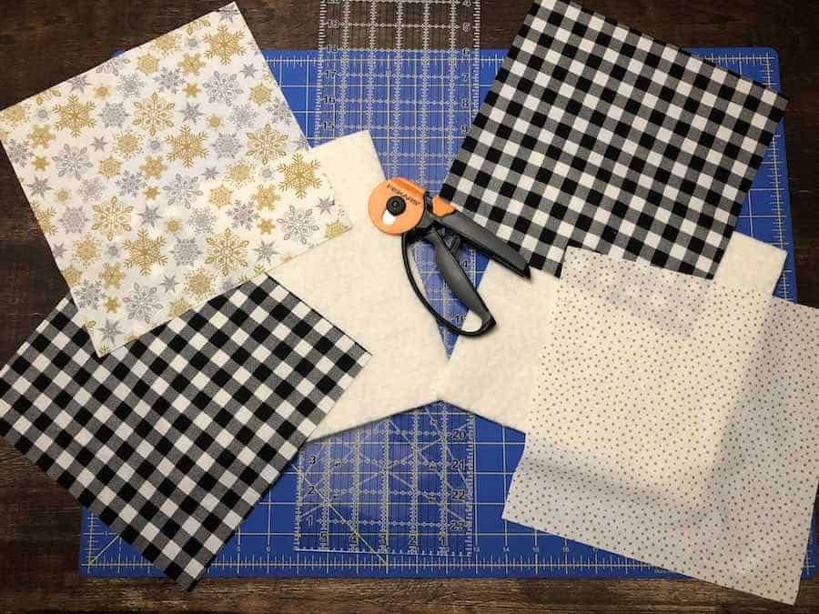 2 Measure and cut fabric