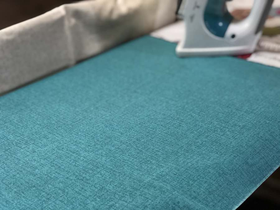 Wash, Dry, and iron fabric