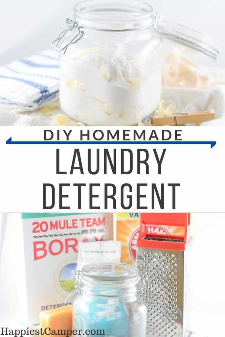 Easy DIY Homemade Laundry Detergent