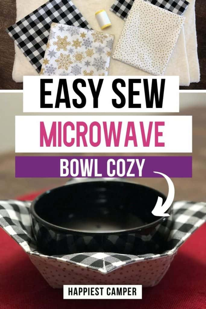 Easy Sew Microwave Bowl Cozy