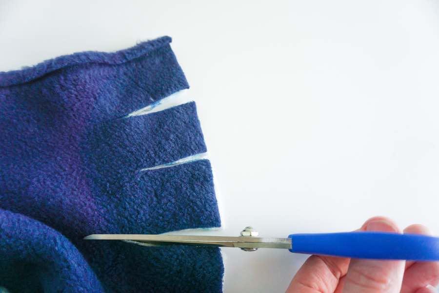 Cutting Fleece