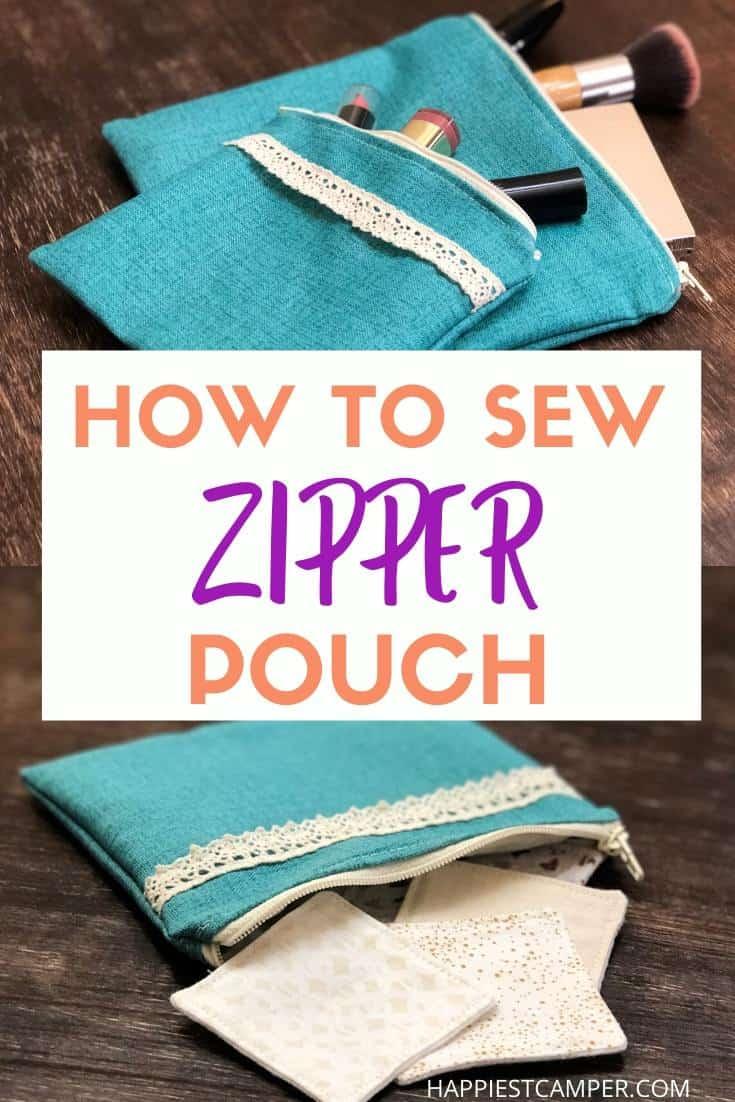 Sew a Lined Zipper Pouch