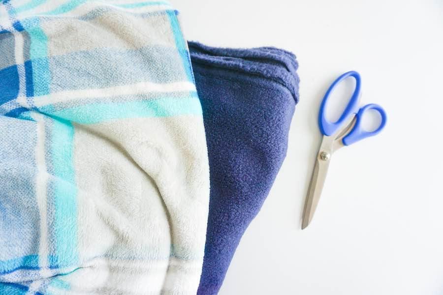 Supplies for Fleece Blanket