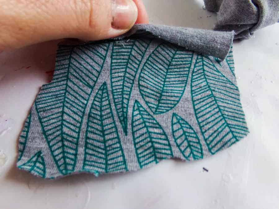 headband fabric rectangle
