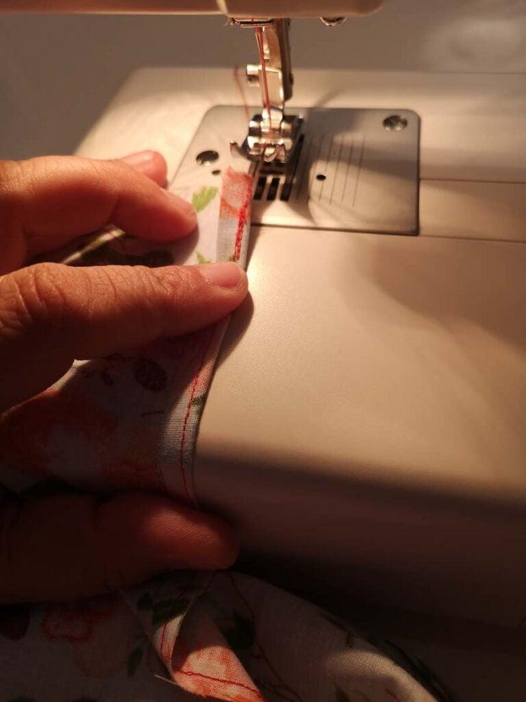 sewing around sleep shorts