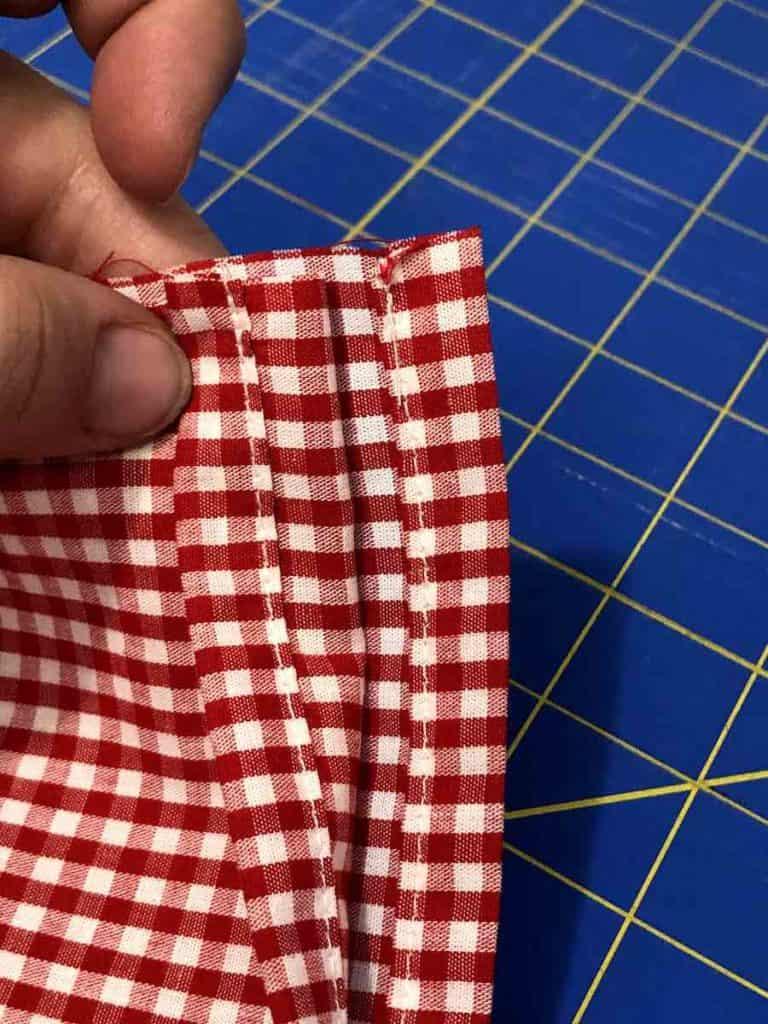 stitching hems