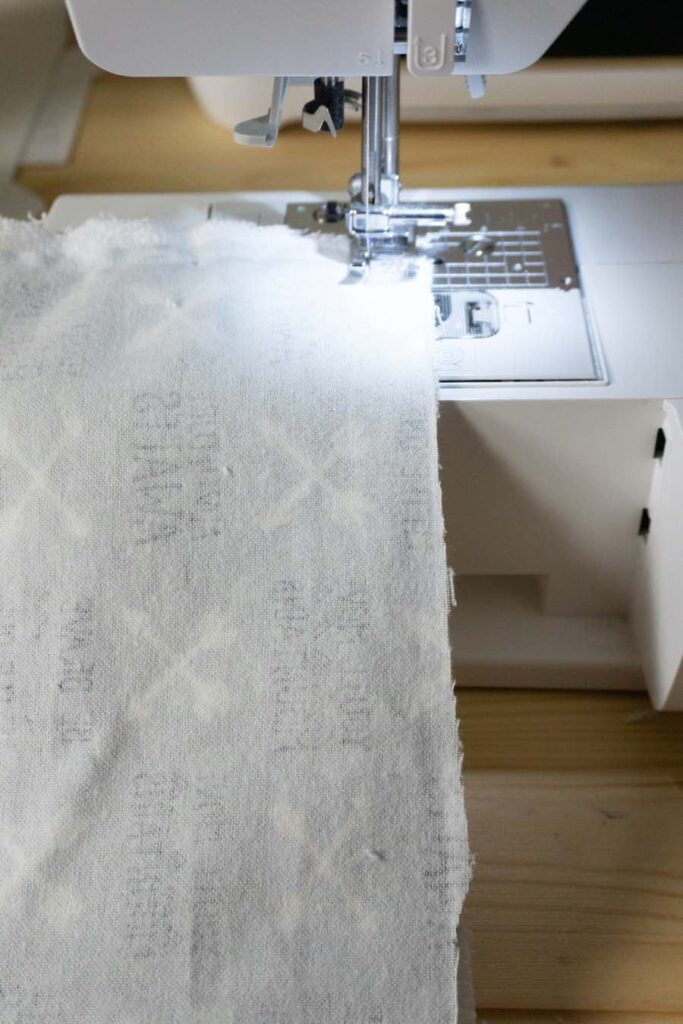 sewing burp cloth