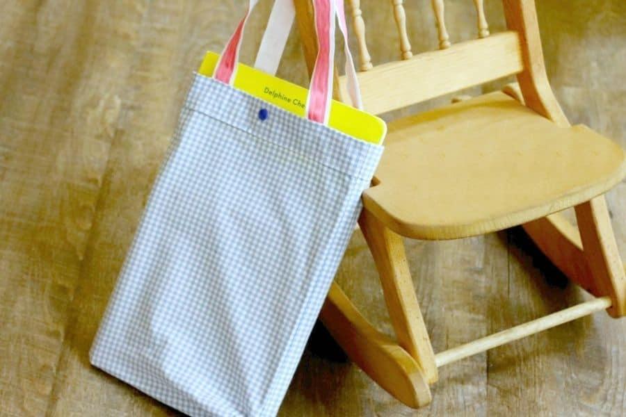 DIY pillowcase bag