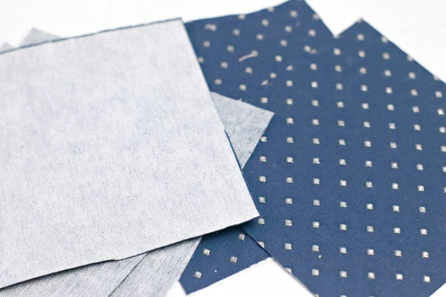fusible and fabric