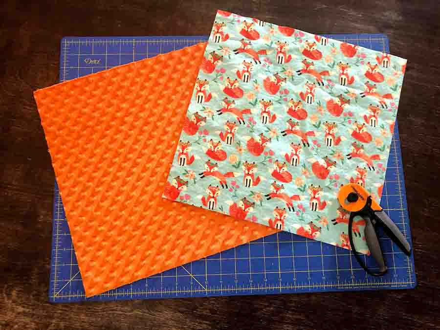 measure and cut fabric