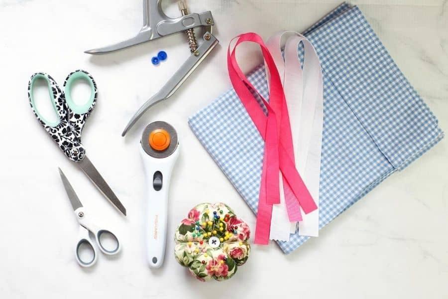 supplies for pillowcase bag
