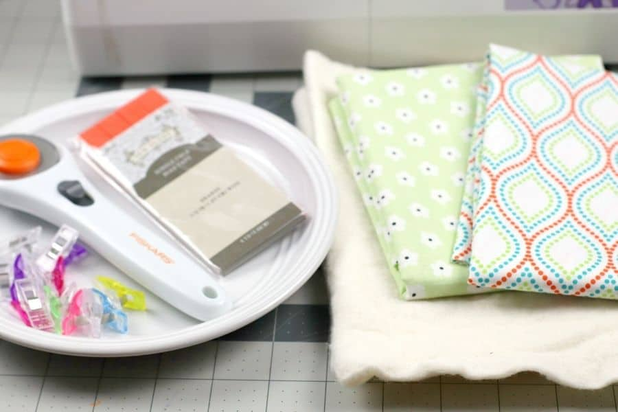 supplies for round potholder