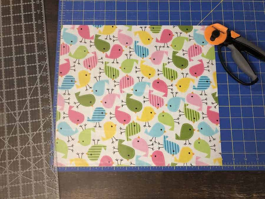 Measure and cut out your fabric