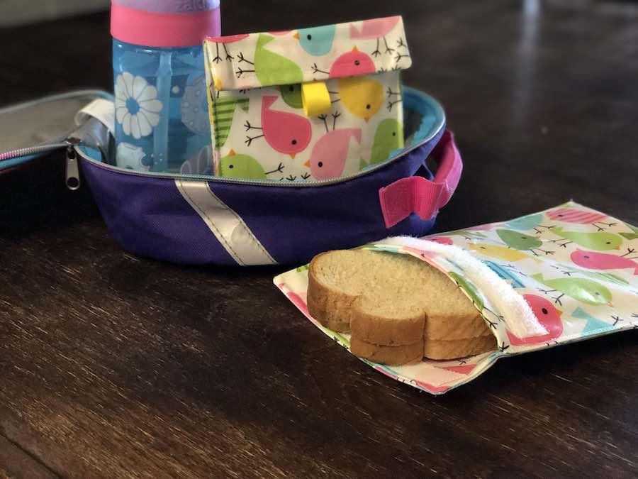 Final reusable sandwich bag