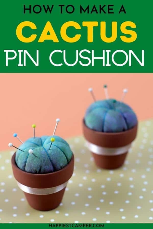 How To Make A Cactus Pin Cushion