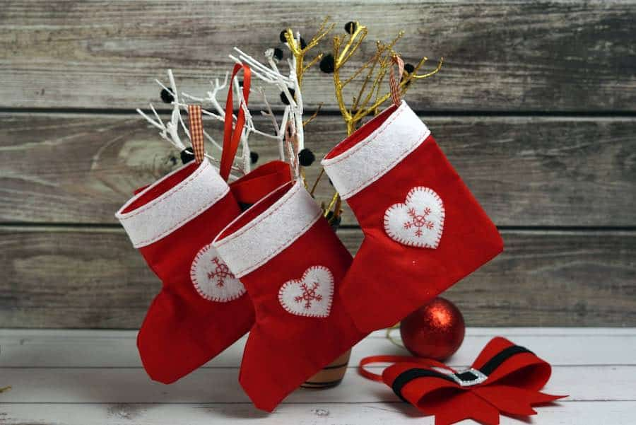 Final Mini Stocking Gift Card Holder