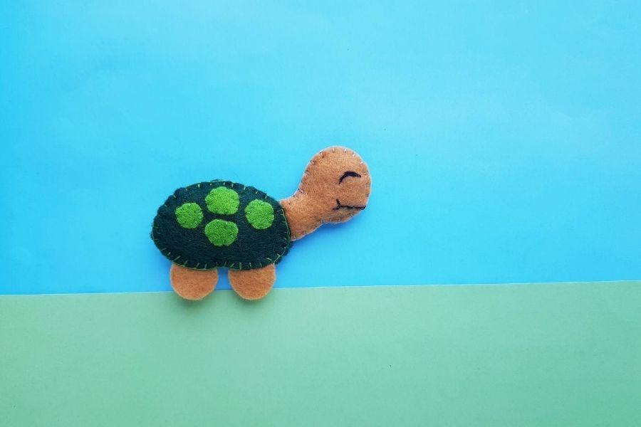felt turtle project