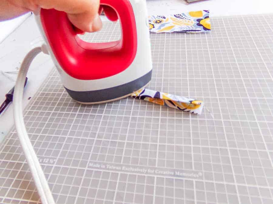 ironing hems hack