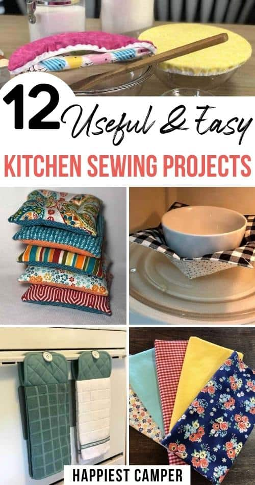 12 Useful & Easy Kitchen Sewing Projects