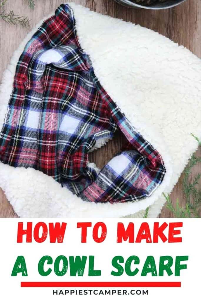 How To Make A Cowl Scarf.