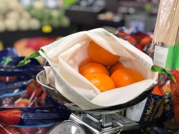 DIY Zero Waste Produce Bag Create card