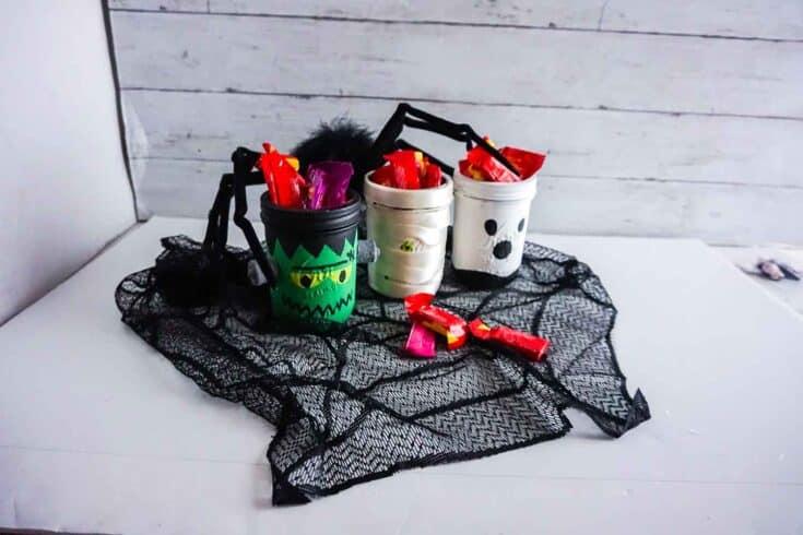 Halloween Mason Jar Create Card